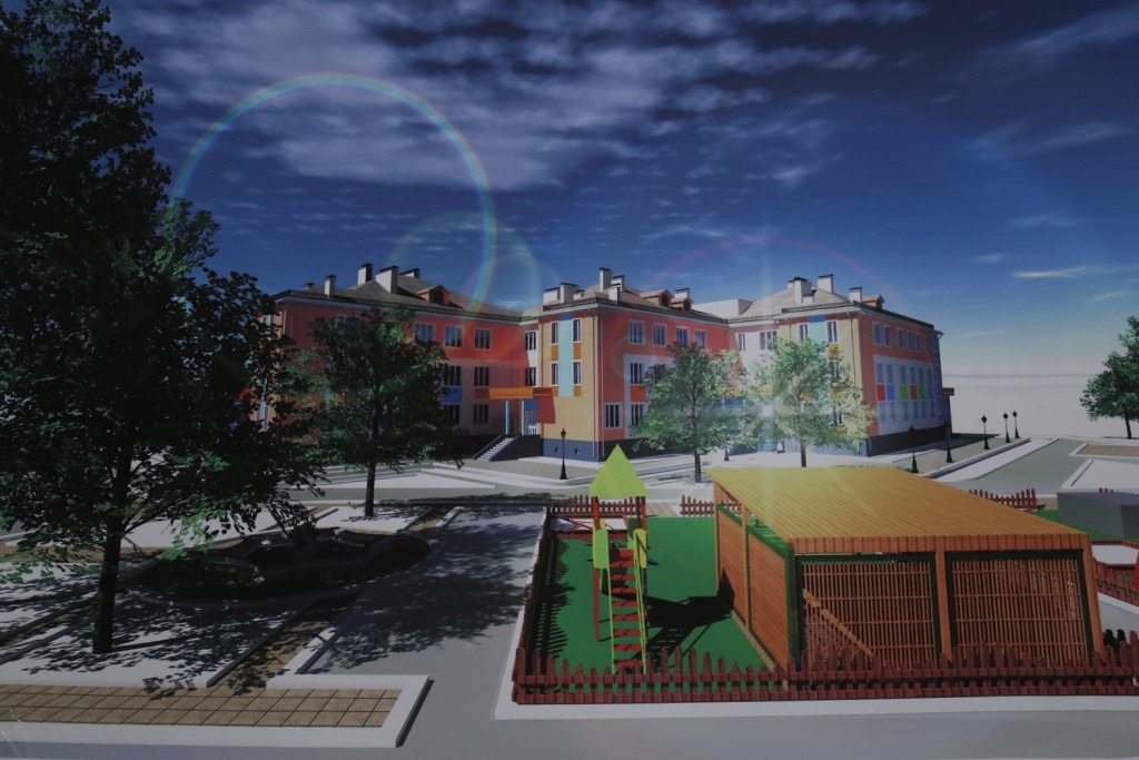 В 2019 году в астраханском селе Началово заработают новый детский сад и школа