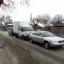 В Астрахани микроавтобус с отказавшими тормозами спровоцировал тройное ДТП