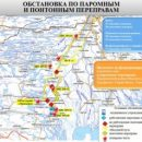 В Астраханской области перестали работать 4 паромных переправы