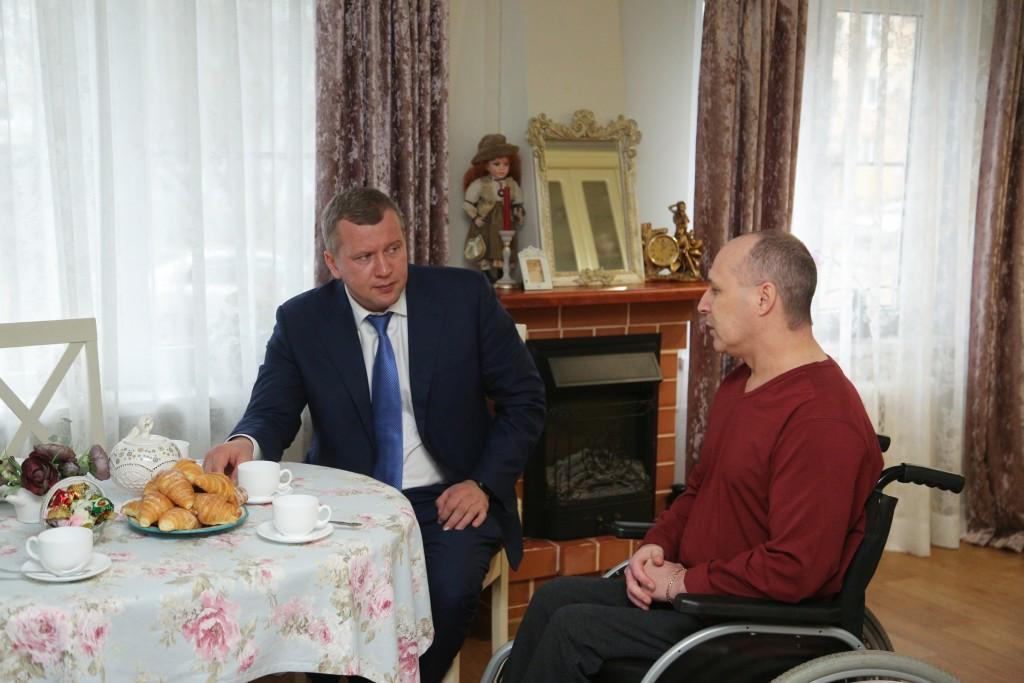 Сергей Морозов: Будем улучшать условия жизни инвалидов