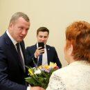 К Сергею Морозову пришли на личный приём астраханки