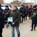 Похоронили капитана полиции, получившего тяжелые ранения в перестрелке под Астраханью