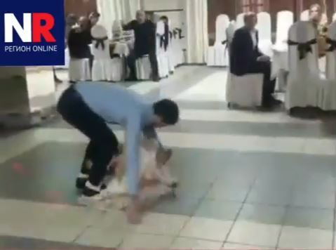 В Астрахани танцор лезгинки упал на ребенка, исполняя сальто