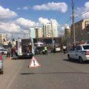Мужчина, женщина и ребенок пострадали в тройном ДТП в Астрахани