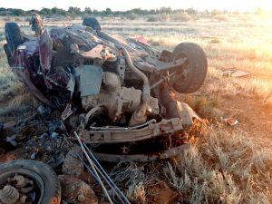 В Астраханской области автомобилист протаранил опору ЛЭП и погиб