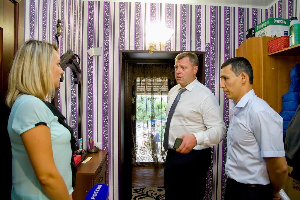 В селе Началово врио губернатора Игорь Бабушкин проконтролировал исполнение поручений по водоснабжению
