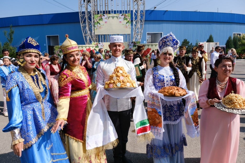 В Астрахани отметили Сабантуй