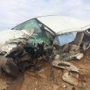 Две легковые машины столкнулись под Астраханью, один из водителей погиб