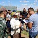 В Астраханской области незаконных мигрантов ловили бойцы ОМОН Росгвардии