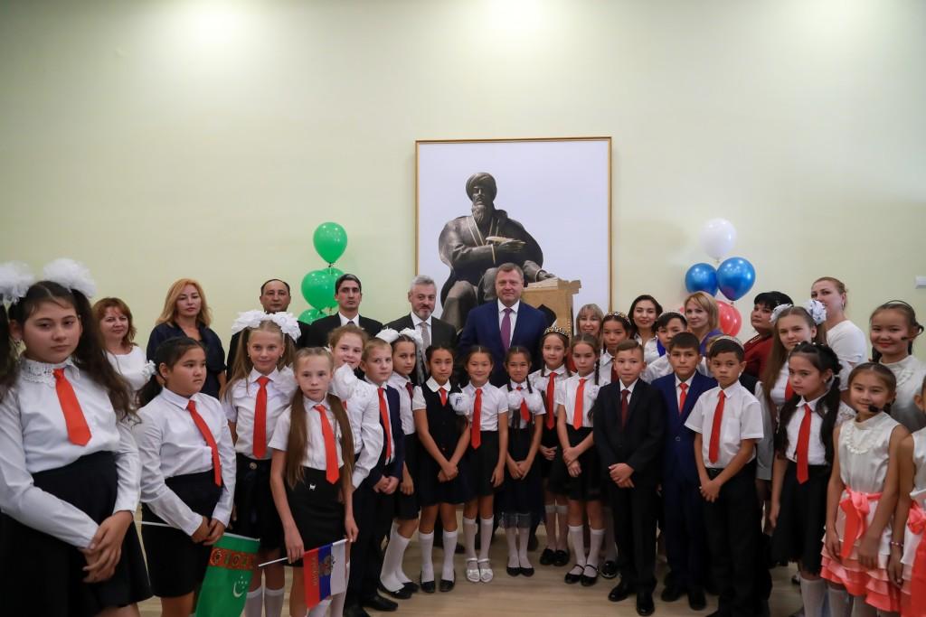 Единственная в РФ туркменская школа открылась для учеников под Астраханью