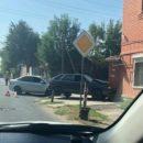 В Астрахани автомобиль пытался протаранить дом