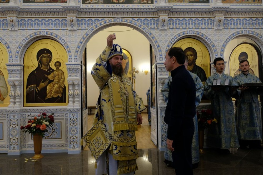 Бизнесмен из списка «Форбс» построил в Астраханской области храм