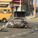 В Астрахани при столкновении иномарки и «Газели» пострадали 11 человек, в том числе и дети