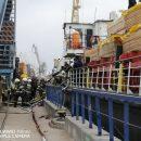 Пожар на иранском судне в Астрахани ликвидировали, никто не пострадал