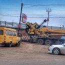 ЧП во время ремонта Милицейского моста в Астрахани