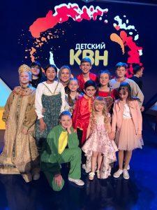 Астраханские школьники — в финале детского КВН в Москве