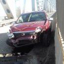 В Астрахани на Старом мосту произошло странное ДТП