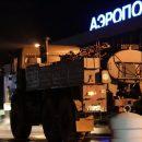 Ночью в Астрахани военные продезинфицировали аэропорт, рынок и еще одну больницу