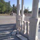 Вандалы оказались невиновными в ЧП в беседкой в обновленном астраханском парке