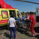 Новый вертолет санавиации заступил на дежурство в Астрахани и спас жертву инфаркта
