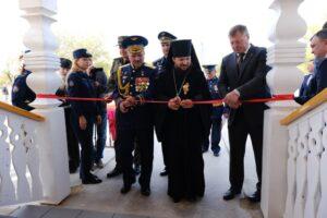 В честь юбилея ГЛИЦ им. В. П. Чкалова в Ахтубинске открыли новые памятники и храм