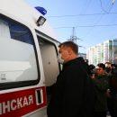 Астраханский губернатор передал ключи от новых машин скорой помощи руководителям больниц