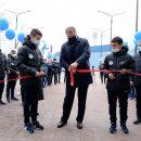 Губернатор открыл в Астрахани физкультурно-оздоровительный комплекс